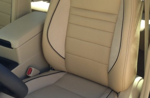 2016 Toyota Camry Leather Interior Upgrade