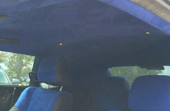 2014 Challenger Suede Headliner and Seats